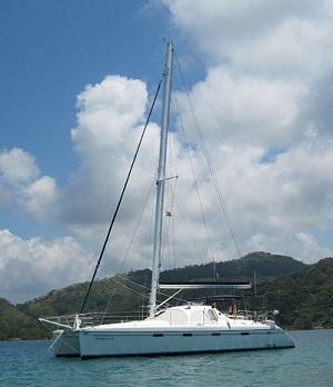 Catamaran sailing charters Panama