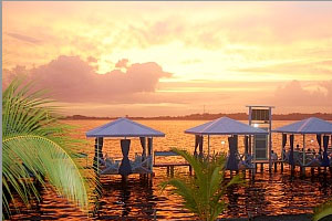 bocas resort sunset