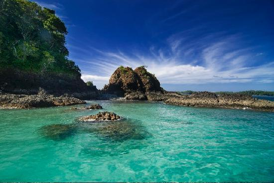Chiriqui blue water