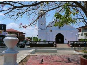 Los Santos Las Tablas church