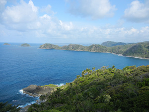 Isla Grande from above