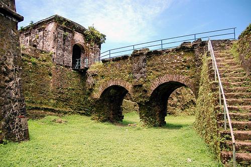 fort san lorenzo wall