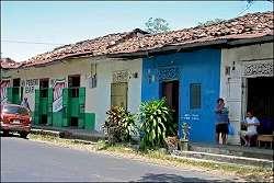 Herrera town street