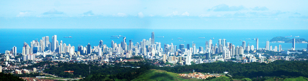 panama skyline day