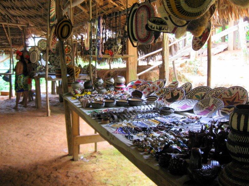 Embera Tour Handicrafts Panama Panama Travel Unlimited