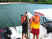 Coral Eco Lodge, Live Fishing