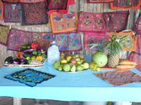Tropical Food at Hotel Coco Blanco