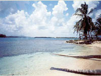 Tranquilas playas en Hotel Yandup