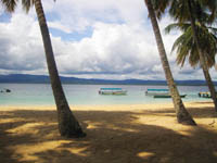 Beaches Around Cabanas Isla Aguja