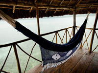 Descansando en Hotel Yandup