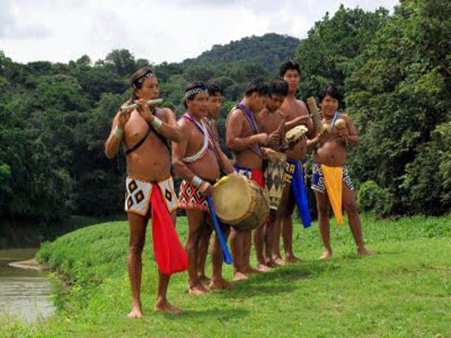 Embera-Village-Indians-tour-welcome