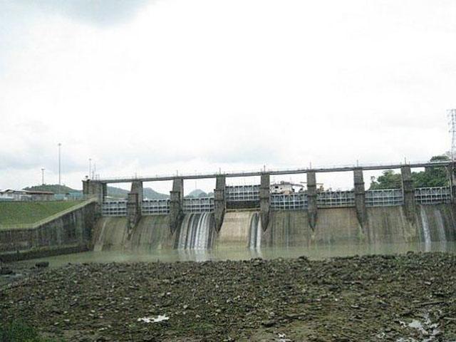 Panama Canal Dam