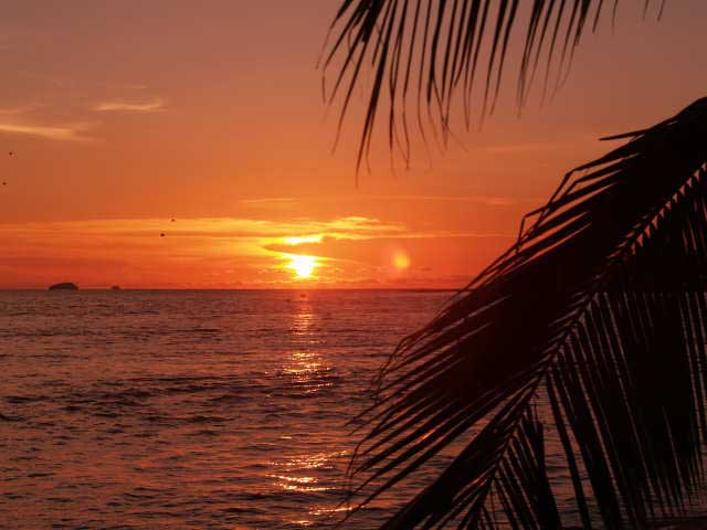 Isla Grande Sunset