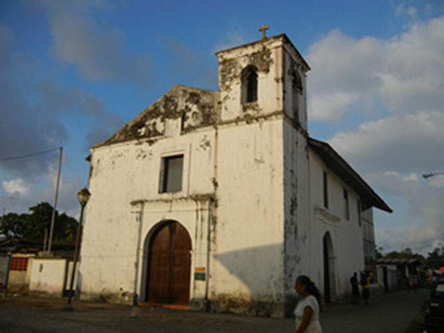 Black Christ Church Portobelo