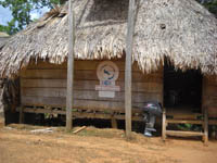 Typical Embera Building