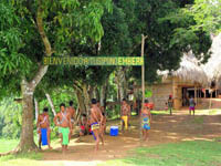 Welcome to the Embera Village