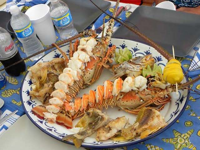 Sailing-Panama-Cartagena-San-Blas-buon-vento-dinner