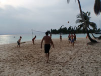 Voleyball in the islands