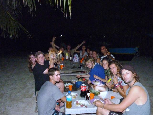 Sailing-Panama-Cartagena-San-Blas-darien-gapster-dinner