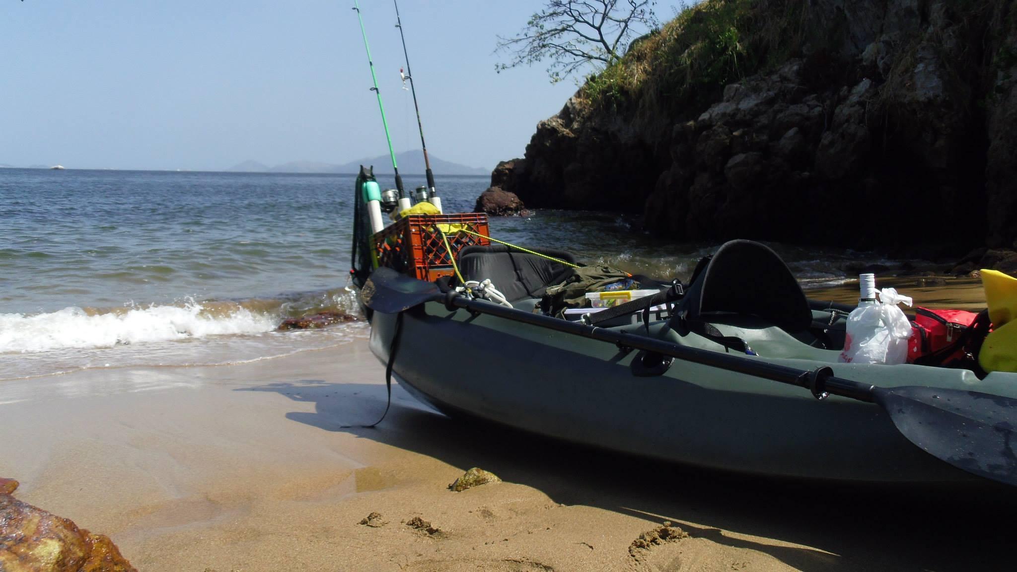Panama kayak fishing tour panama travel unlimited for Kayak fishing tournaments