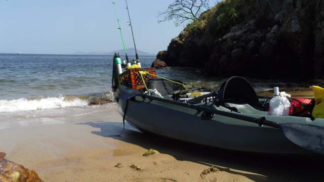 Panama Kayak Fishing Tour